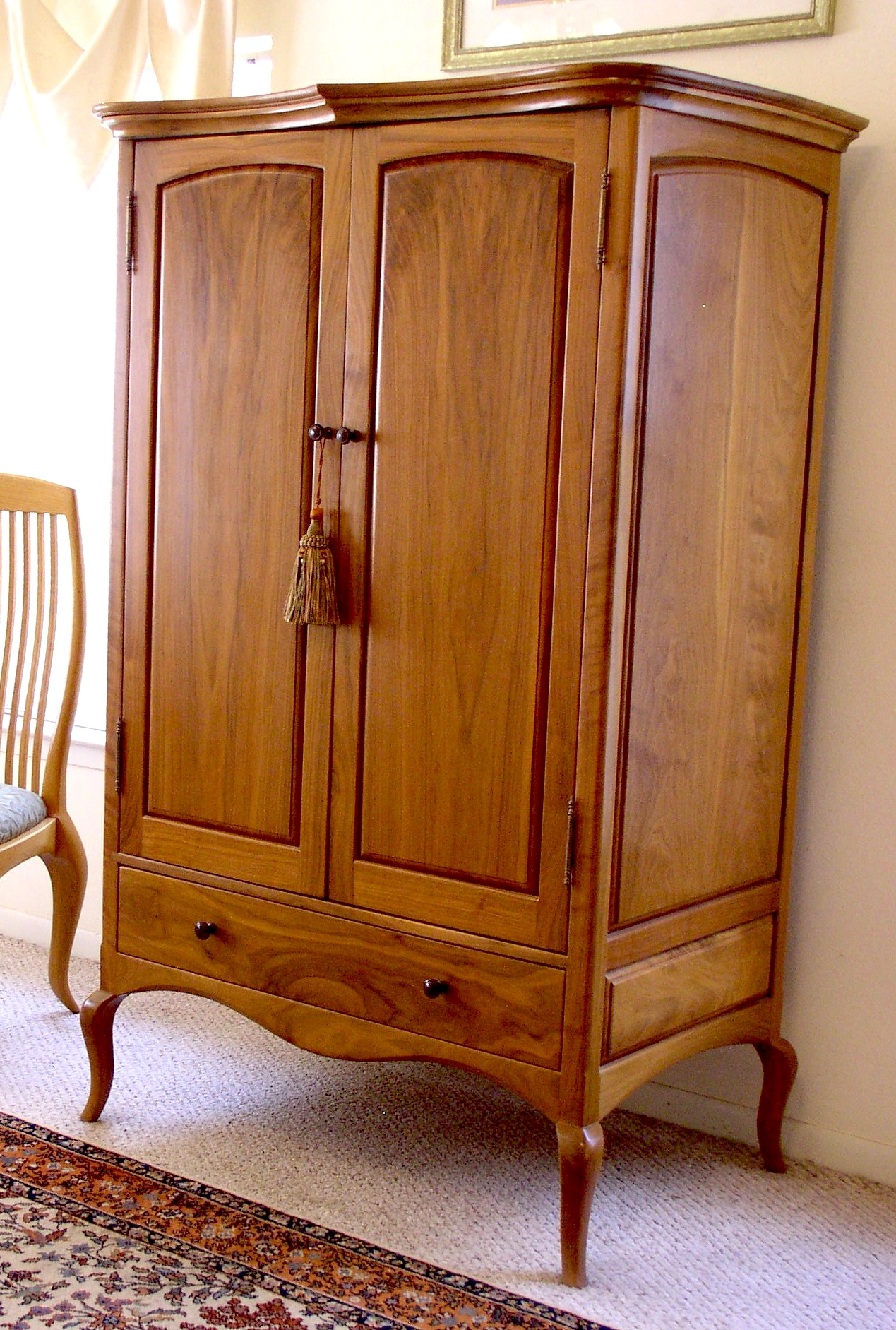 French Armoire Nursery