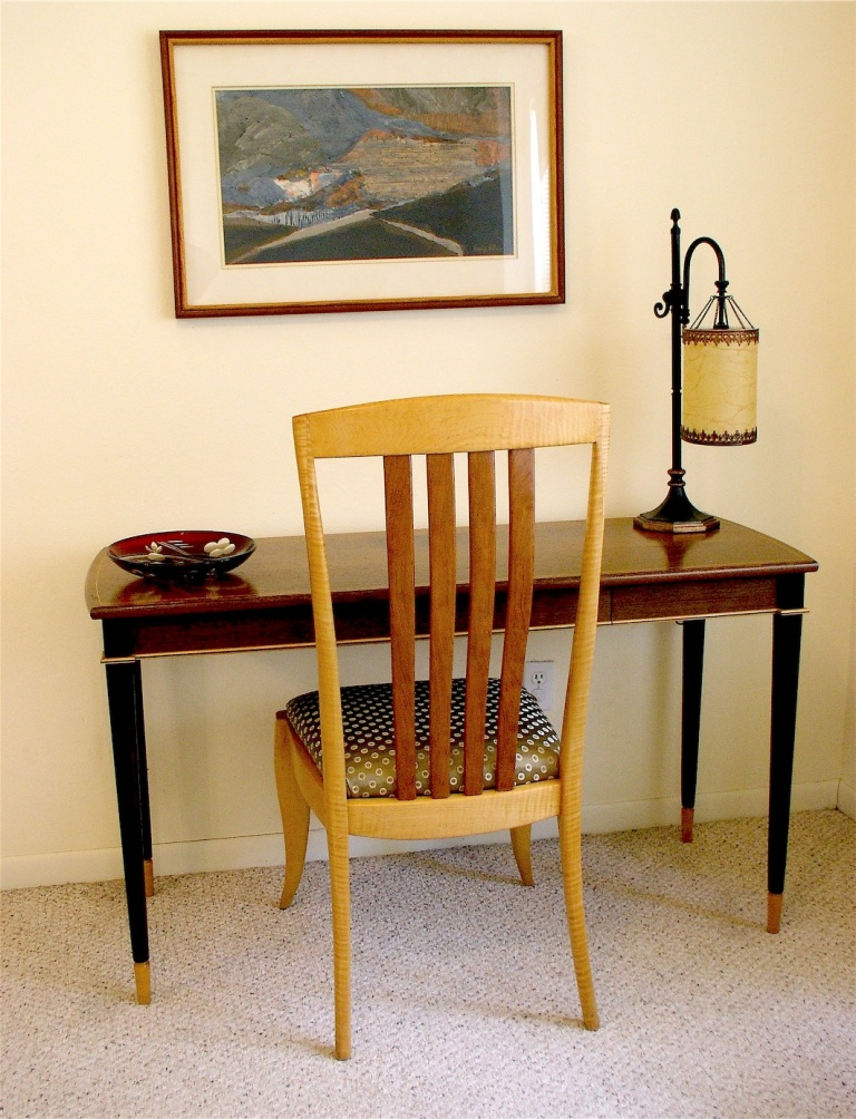 maple chair&desk2