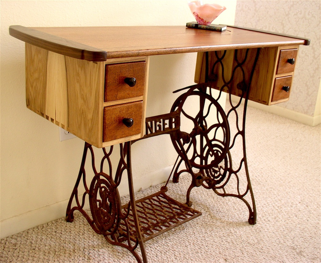 Strange My Wifes Sewing Table Louis Fry A Furniture Makers Blog Interior Design Ideas Clesiryabchikinfo