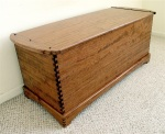 bubinga blanket chest