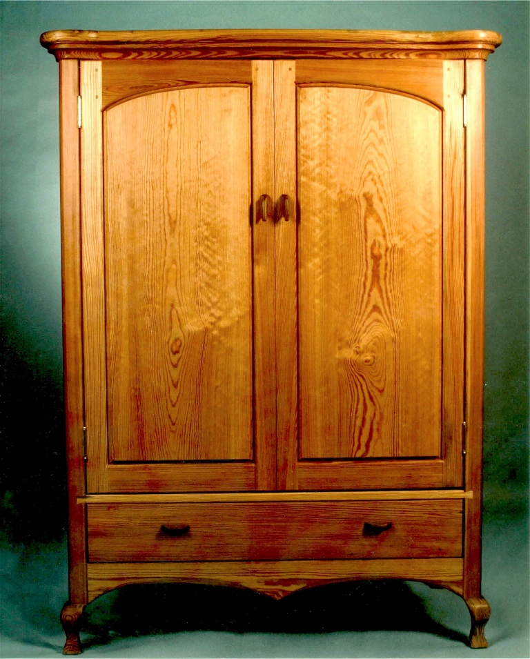 longleaf pine armoire