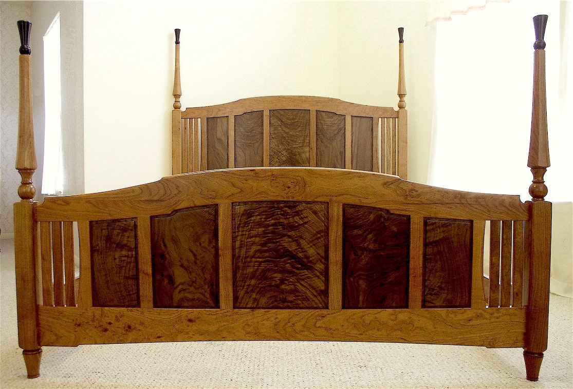 Tapered Octagonal Bedposts Louis Fry A Furniture Maker 39 S Blog