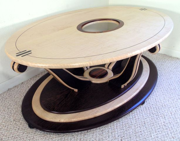 coffee table construction method