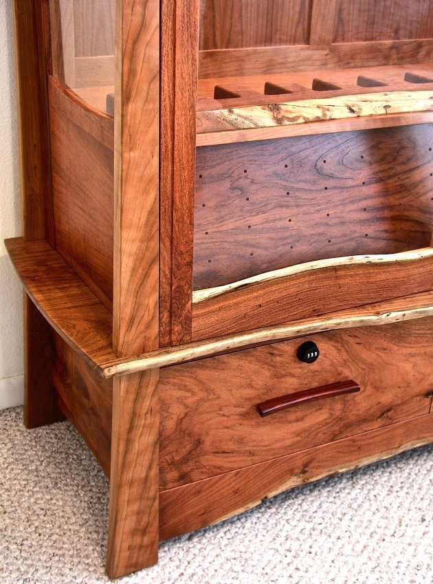 coffee table gun cabinet plans