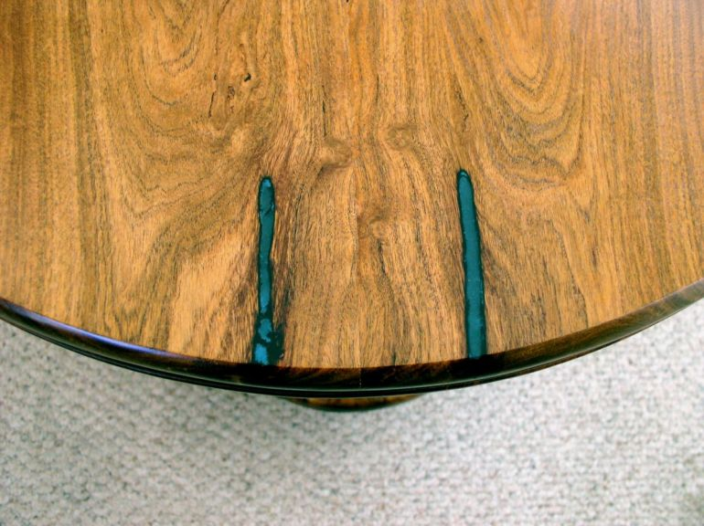 Mesquite & Live Oak Table Detail01