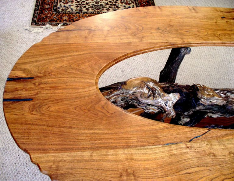 mesquite & live oak table detail1