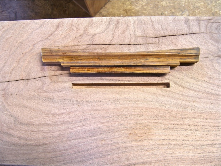 cocobolo drawer pull