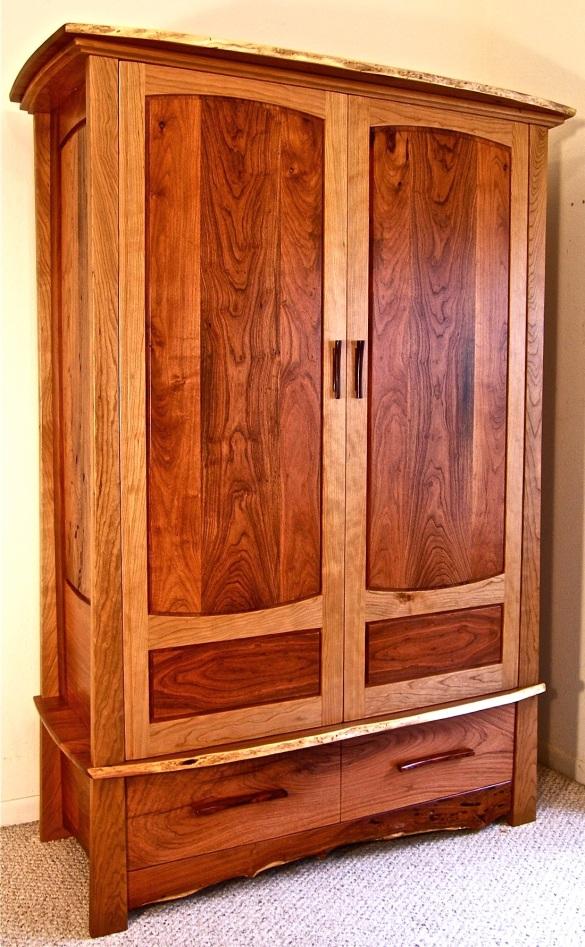 shaker armoire plans