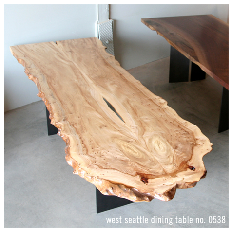 An Urban Hardwoods table