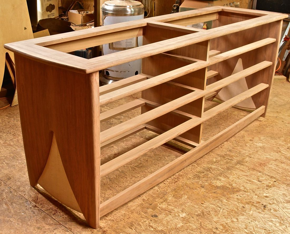 glued-up dresser