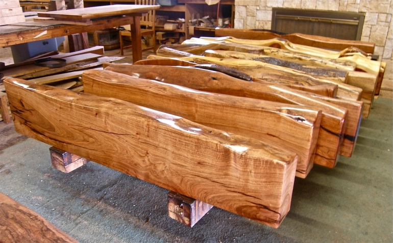 Mesquite mantles from Southwest Trading Post