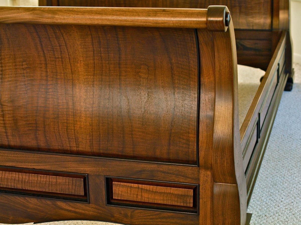 sleigh bed footboard1