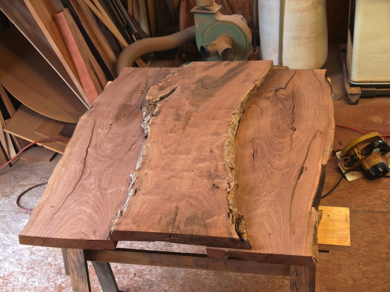 mesquite slabs for table top