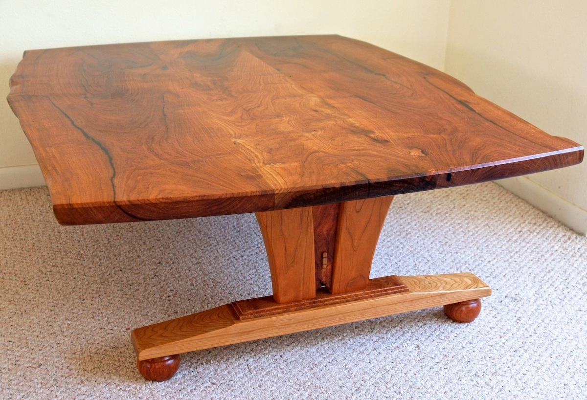 live edge mesquite coffee table3