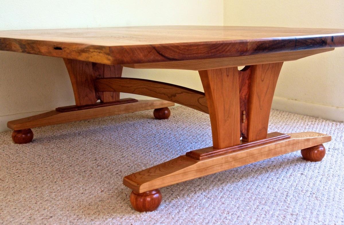 live edge mesquite coffee table2
